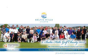 Charity-Golfcup von Baltic hilld Golf Usedom 2012