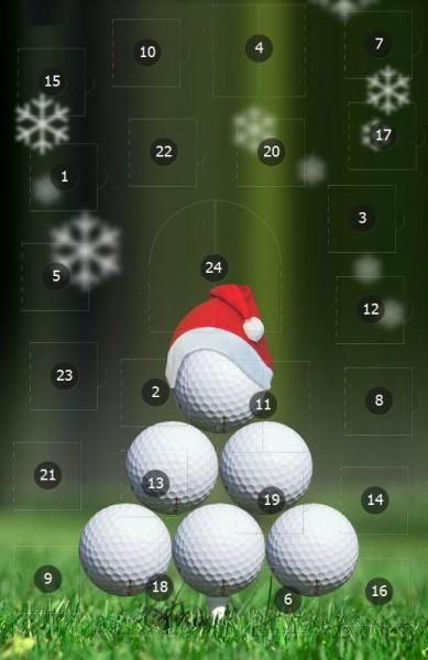 Golf-Adventskalender von Golfen-MV auf Facebook