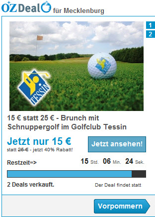 Golfclub Tessin mit OZ-Deal