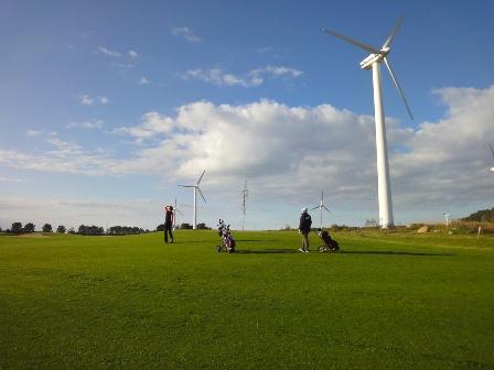 Sunset Golf auf der Golfanlage Warnemünde